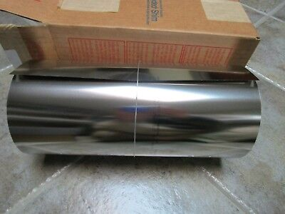 Precision Brand 22330 Stainless Steel Shim Stock .010 X 12 X 50 Nos