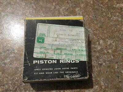 John Deere Pony Motor Piston Rings - Nos