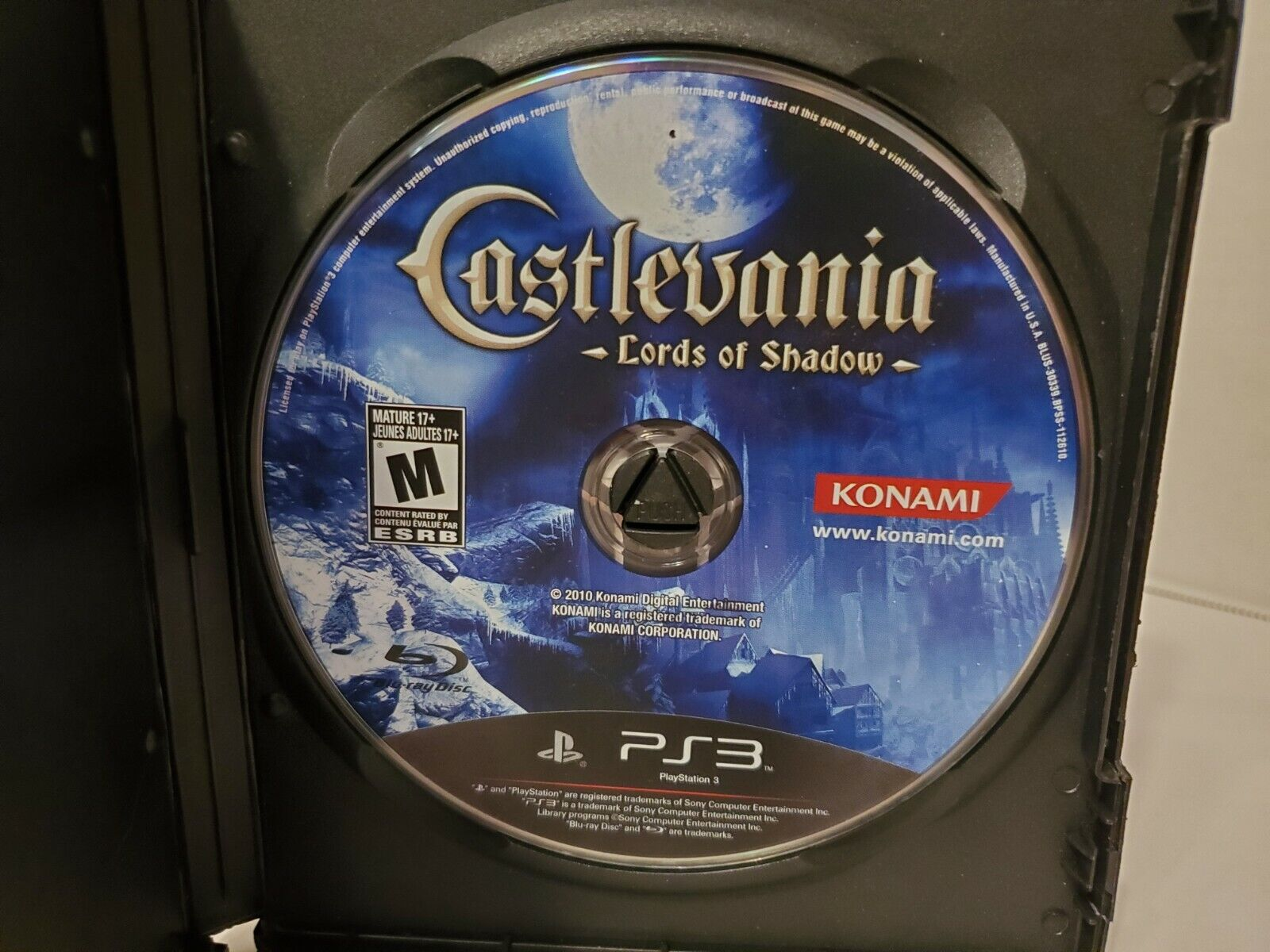 Castlevania Lords Of Shadow Sony PlayStation 3, 2010 - DISC ONLY - FREE SHIP - $10.49