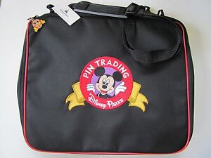 AUTHENTIC Disney Parks Trading Pin Bag Large NEW Strap Case Album Folder