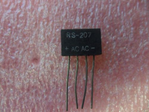 (5 PER LOT)   RS-207 RECTIFIER DIODE 2A 1000V