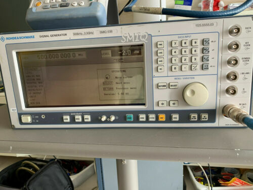 Rohde & Schwarz SMIQ / R&S SMIQ 03B 300 KHz to 3.3 GHz Vector Signal Generator