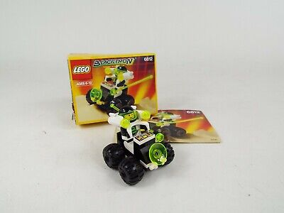 Vintage Lego Space Blacktron Grid Trekkor Set 6812 Complete Box & Instructions
