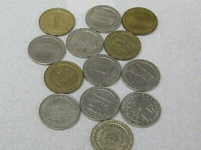 $1 DOLLAR SLOT TOKEN COIN CASINO TOKENS (10) TOKENS TOTAL SEE PHOTOS