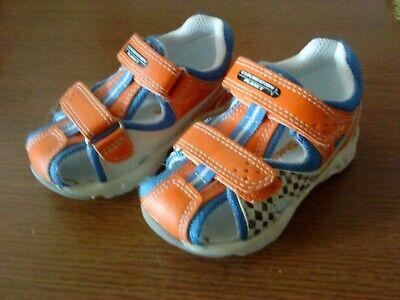i Shoes für Jungen und Mädchen-Kleinkind -Blau/Weiß/Orange (Weiße Schuhe Für Kleine Mädchen)