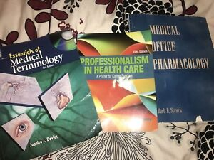 CBBC MEDICAL OFFICE ASSISTANT BOOKS
