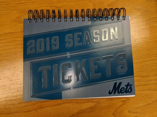 Mets Unused Ticket Stubs- 8/22/19 vs. Indians- All Games Available!