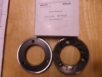 63.5x37.5x9 part :WY28217000 K5 Grinding Burrs pair K6 Compak// Wega