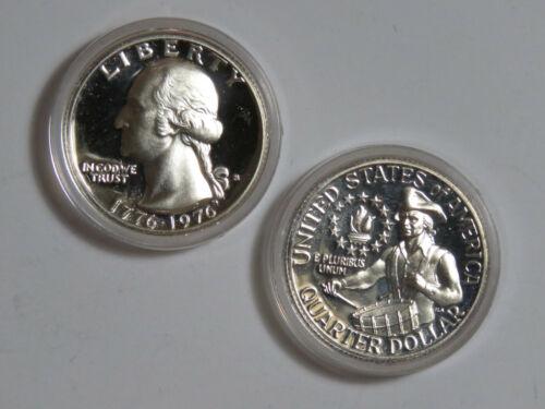 1976-S Washington Quarter - 40% Silver Bicentennial - Proof