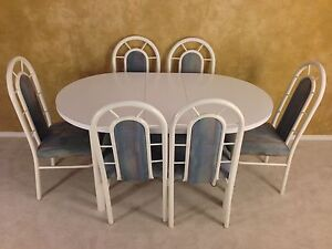 DINING TABLE + 6 CHAIRS FOR $80! DELIVERY AVAILABLE!
