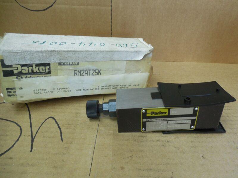 Parker Pressure Relief Valve RM2AT25K 5000 PSI New