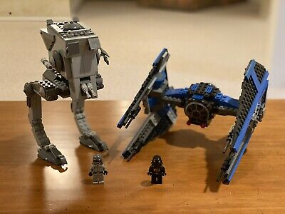 Lego Star Wars Bundle: AT-ST (7657) & Tie Interceptor (6206)