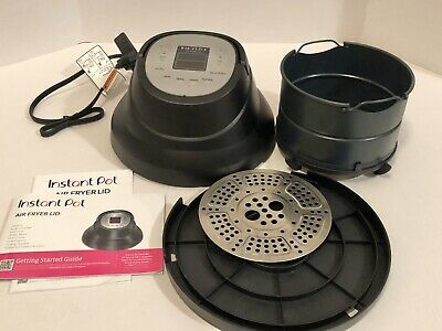 Instant Pot Air Fryer Lid with Roast, Bake, Broil, Reheat & Dehydrate *Used Once