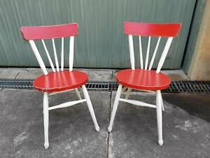 Dining chairs (2) Shabby chic