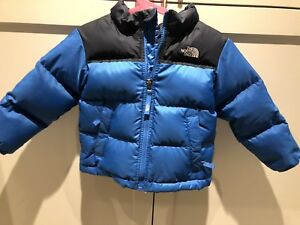 Kid's size 3T North Face / goose down coat / excellent condition