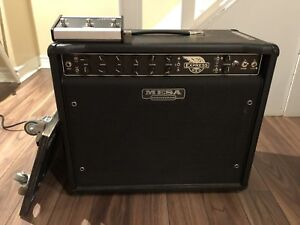 Mesa Boogie Express 5:50 Tube Combo amp, foot switch, cart