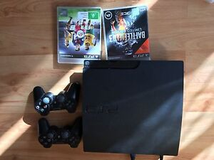 PS 3 160GB with two consoles and 2 games Gilles Plains Port Adelaide Area Preview