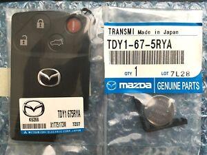 07 08 09 Mazda CX9 Smart Card Keyless Remote Key Entry Fob Transmitter OEM