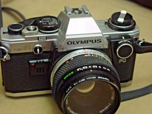 Olympus OM-10FC Camera, with Lenses, Case, Accessories