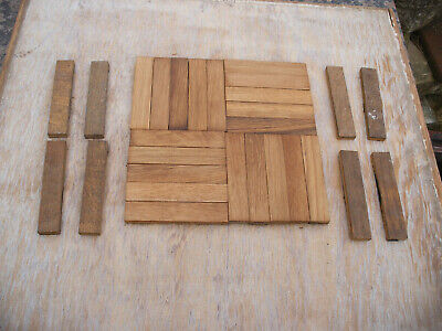 Reclaimed finger / mosaic oak / hardwood parquet flooring