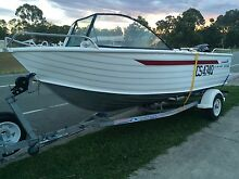 2008 BROOKER 485 BAY CHASER 60hp MERCURY Waterford Logan Area Preview