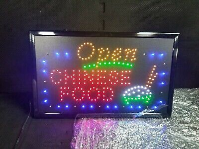 Neon Sign Open Led Business Open Sign Advertisement Board Electric Display Two