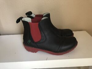 Leather el naturalista spanish made high quality ankle boots