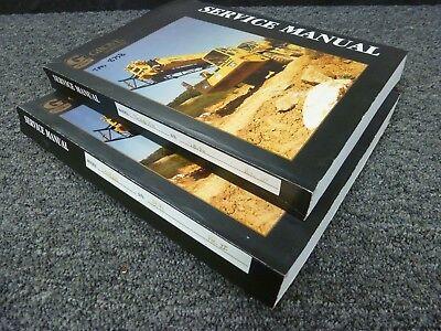 Grove Tms 875b 75 Ton Truck Crane Shop Service Repair Manual 2 Volume Set