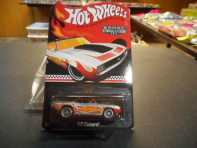HOT WHEELS 2014 RLC Red Line Club Zamac 1969 Chevy Camaro MONMC (see pictures)