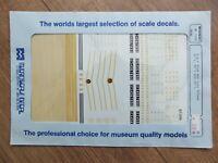 1953-87 Microscale Decal HO #87-486 Baltimore /& Ohio Cov/'d Hoppers N-42 /& N-43