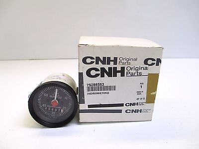 Cnh Hourmeter 75288583 Oem Brand New Tractor New Holland Backhoe