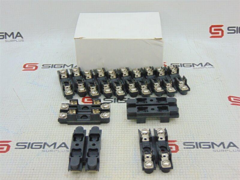 Bussmann S-8301-2 Glass Fuse Block 2-Pole 300V 30A *Lot of 9*