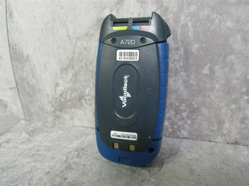 Vocollect A720 Voice Terminal TAP920-01 1003659B w/ Rechargeable Battery