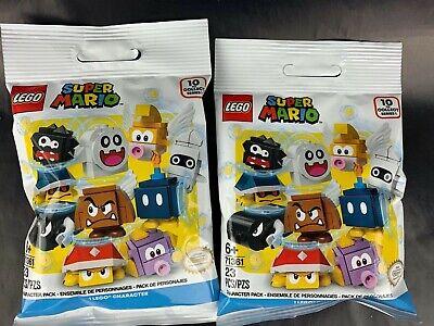 LEGO 71361 Super Mario Minifigure Blind Bags Lot Of 2