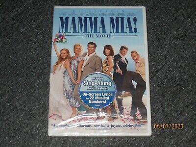 Mamma Mia (DVD, 2009, 2-Disc Set, Widescreen) Amanda Seyfried, Meryl Streep -NEW