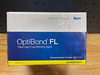 Optibond Fl Light-cure Adhesive Unidose Kit. Kit Contains 50 Unitdose Packets