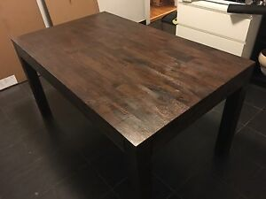 Dining table and bench seats Tempe Marrickville Area Preview