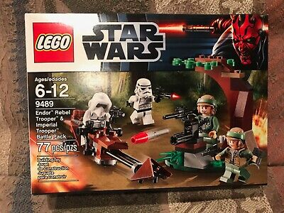 LEGO Star Wars Endor Rebel Trooper & imperial Trooper Battle Pack 9489