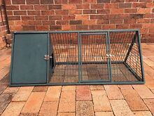 METAL RABBIT HUTCH CAGE Glenfield Campbelltown Area Preview