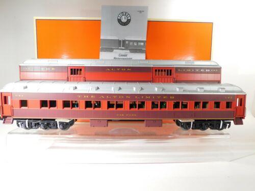 Lionel O Gauge Chicago & Alton Heavyweight Passenger Car 2 Pack #6-39099 C#129