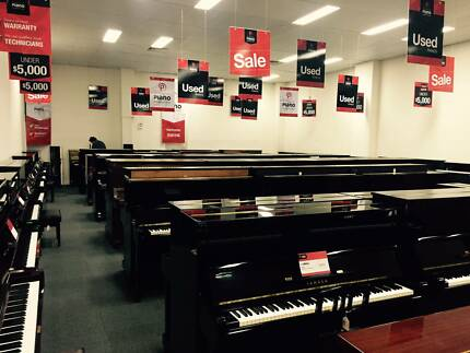 Yamaha U1 and U3 Used upright pianos 60+ in store