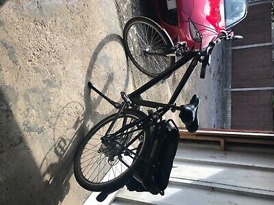 Power assisted E bike Pulse ZR black, excellent condition, 3 power modes,