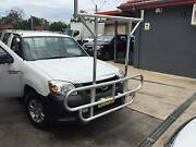 FORD RANGER PJ MAZDA BT50 BULLBAR & LADDER RACK BOLT ON MAY FIT H Winston Hills Parramatta Area Preview