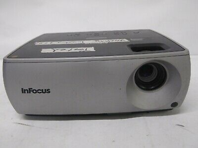 Infocus IN2102EP DLP SVGA Projector 1277 Lamp Hours Tested Free Shipping