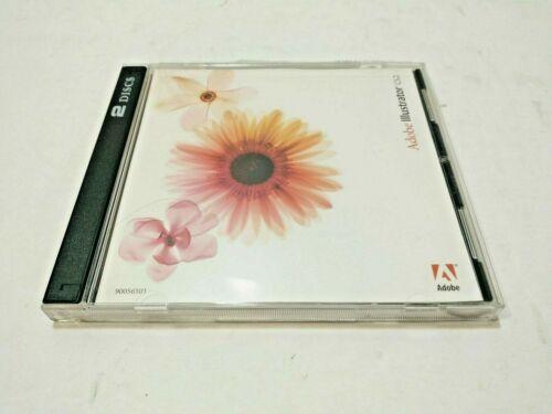 100% ORIGINAL ADOBE ILLUSTRATOR CS2 (2 DISCS) WINDOWS SOFTWARE CD WITH THE S/N