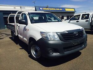 2012 Toyota Hilux Ute 3 Seater Taminda Tamworth City Preview
