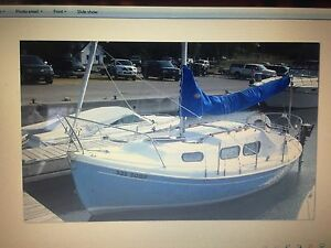 Halman 20 Foot Sailboat