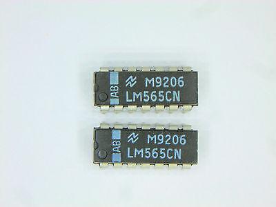 Lm565cn Original National Semiconductor 14p Dip Ic 2 Pcs
