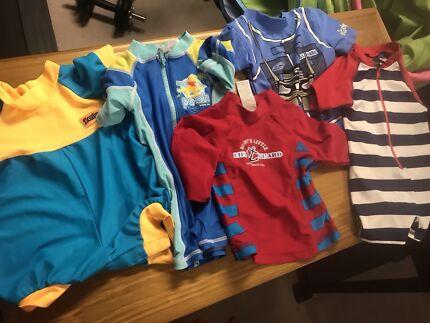 Boys swimwear bundles - size 0 &1