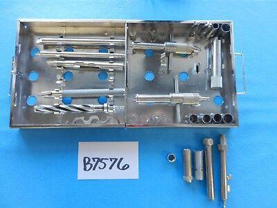 Codman Surgical Orthopedic Spine Spinal Anterior Cervical Instrument Set W Case
